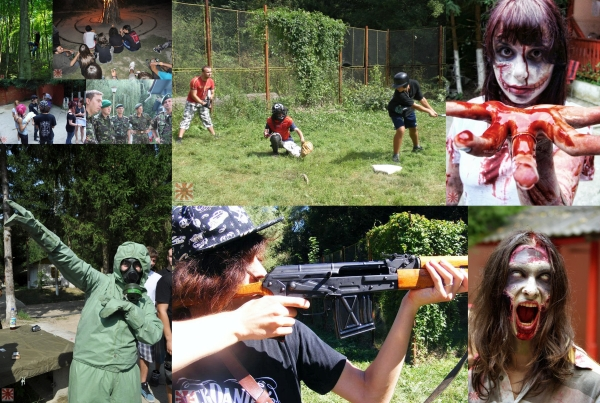 A-Camp Zombie Survival Edition
